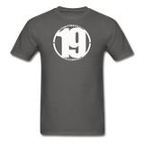 19 THERE'S POWER THAT NUMBER T-Shirt - charcoal