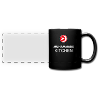MUHAMMAD'S KITCHEN Full Color Panoramic Mug - black