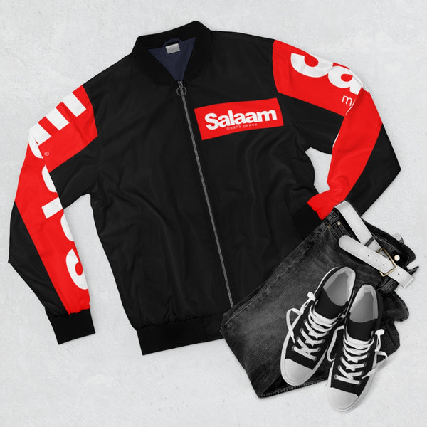 Salaam Means Peace Bomber Jacket