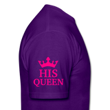 HIS QUEEN T-Shirt - purple