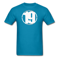 19 THERE'S POWER THAT NUMBER T-Shirt - turquoise