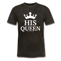 HIS QUEEN T-Shirt - mineral black
