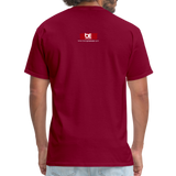 BACK BY 155 Dj Ron G T Shirt - burgundy