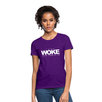 I Stay Woke Women's T-Shirt - purple