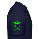 HER KING -Shirt - navy