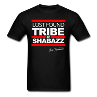 LOST FOUND TRIBE OF SHABAZZ (SILVERBACK EDITION) T-Shirt - black