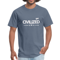 GET CIVILIZED T-Shirt - denim