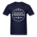 WE ARE WITH FARRAKHAN T-Shirt - navy