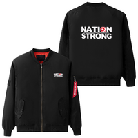 NATION STRONG Air Force Coats