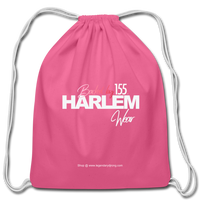 BACKED BY 155 HARLEM WEAR Drawstring Bag - pink
