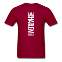 I AM HARLEM  T-Shirt - dark red
