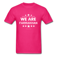 WE ARE FARRAKHAN T-Shirt - fuchsia
