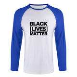 black lives matter Long Sleeve Raglan T-Shirt