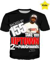 TAKE EM UP TOWN DJ RON G KIDS T SHIRT
