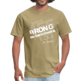 BACK BY 155 Dj Ron G T Shirt - khaki