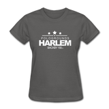 POLOGROUNDS HARLEM Women's T-Shirt - charcoal