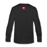 I am God Centered Premium Long Sleeve T-Shirt - black