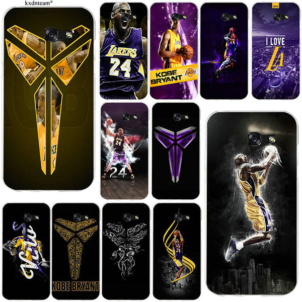 Kobe Bryant Soft  Silicon Phone Cases for Samsung Galaxy A3 A5 A7