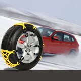 Double Buckle Car Snow Tire Adjustable Anti-skid Chains