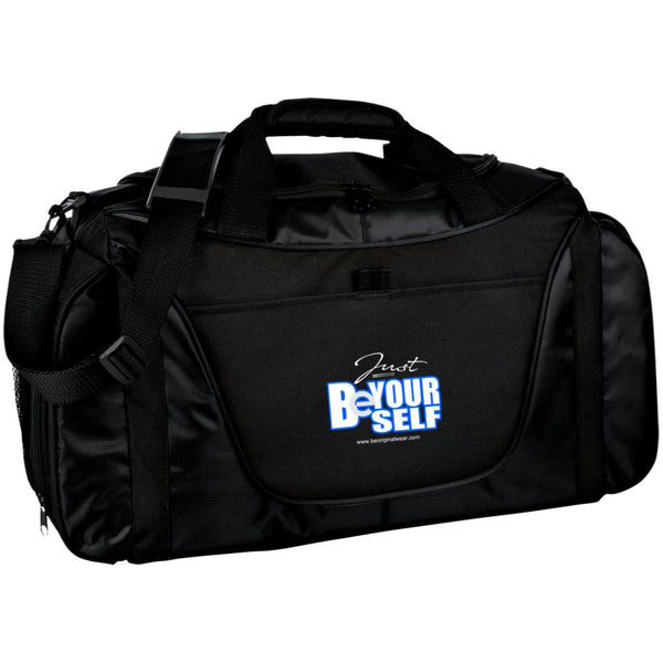 BE YOURSELF Medium Color Block Gear Bag