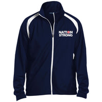 Nation Strong Men's  Warmup Jacket
