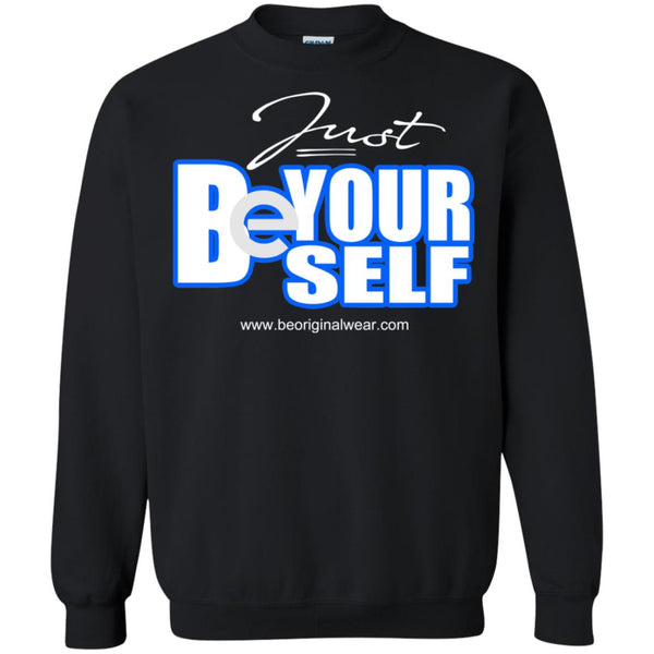 BE YOURSELF Pullover Sweatshirt  8 oz.