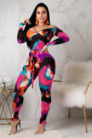 Multi-color  Jumpsuits