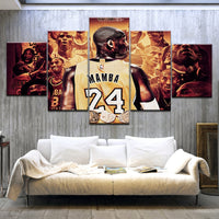 Canvas Wall Art Kobe Bryant Poster Home Decor