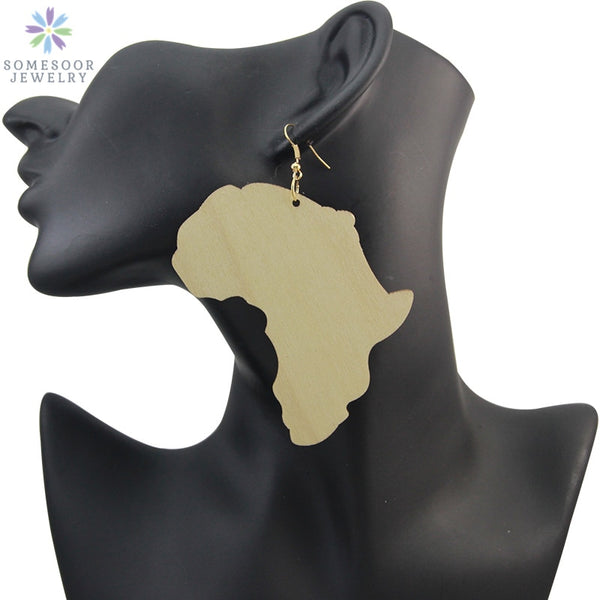 Motherland Map Handmade Ethnic Tribal Ear rings