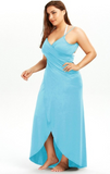 Beach Wrap Cover Up Maxi Dress Plus Size S-5XL