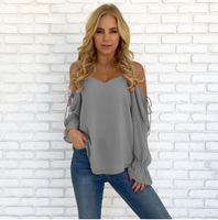 Women  Casual Long Sleeve  Blouse