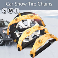 Universal S/M/L Car Snow Chains  Anti-skid TPU Chains