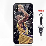 Kobe Bryant 24   Half-wrapped Case Apple iPhone 5 5C 5S SE 6 6S 7 8 Plus X XS Max XR