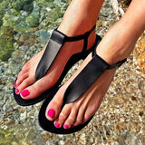 Women  T-Strap Ladies  Beach  Flip Flops
