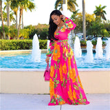 ROSE SUMMER MAXI DRESS