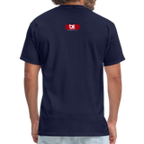 TAKE EM UPTOWN TO THE POLO GROUNDS (DJ RON G) T-Shirt - navy