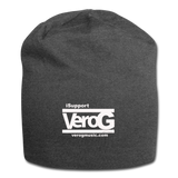 isupport Vero G Jersey Beanie - charcoal gray