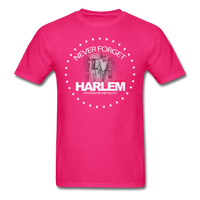 NEVER FORGET HARLEM T-Shirt - fuchsia