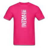 I AM HARLEM  T-Shirt - fuchsia