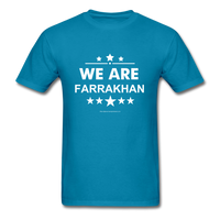 WE ARE FARRAKHAN T-Shirt - turquoise
