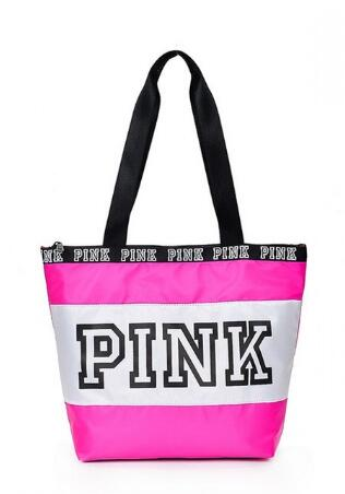 PINK shoulder bag for Travel or Business