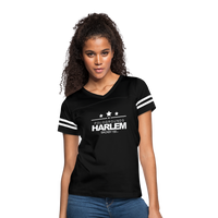 POLOGROUNDS HARLEM Women's Vintage Sport T-Shirt - black/white