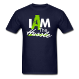 I AM THE HUSSLE T-Shirt - navy