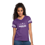 POLOGROUNDS HARLEM Women's Vintage Sport T-Shirt - vintage purple/white