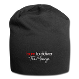 Born to Deliver The Message Beanie - black