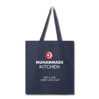 MUHAMMAD'S KITCHEN Tote Bag - navy