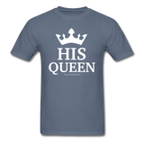 HIS QUEEN T-Shirt - denim