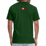 TAKE EM UPTOWN TO THE POLO GROUNDS (DJ RON G) T-Shirt - forest green