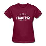 POLOGROUNDS HARLEM Women's T-Shirt - burgundy