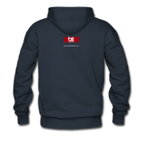 The Man The Message The Music  Premium Hoodie - navy